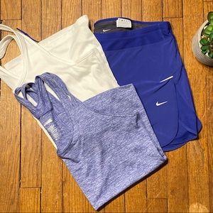 Women's lot Nike Dri Fit, Tank, Tennis Skort XL